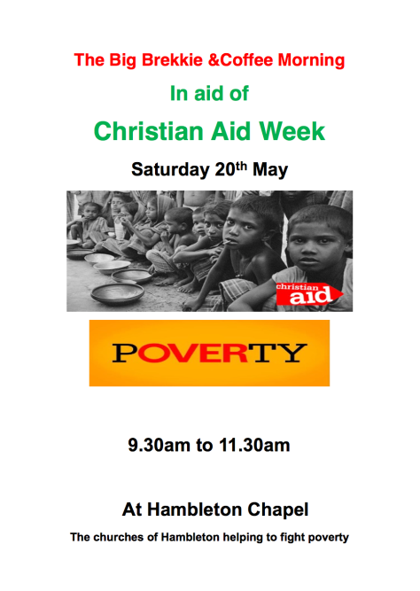 Christian Aid Week - Big Brekkie