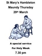 Maundy Thursday 18