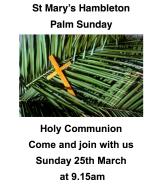 Palm Sunday 18
