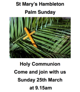 Palm Sunday 18