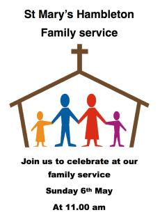 Family Service 6 May 2018