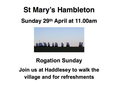 Rogation Sunday -1