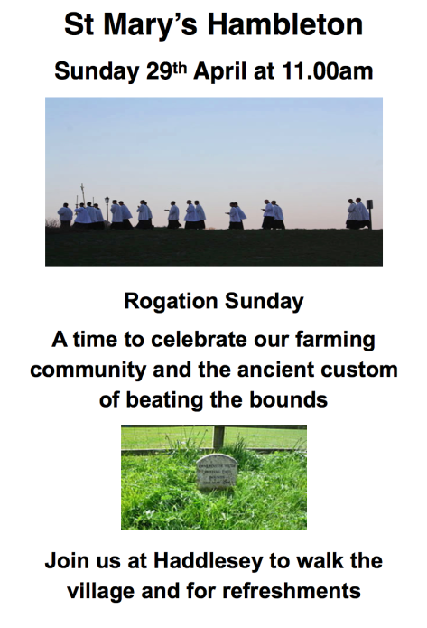 Rogation Sunday - 29April18