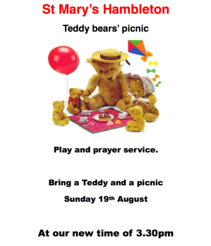 Teddy Bears - 19 Aug 18