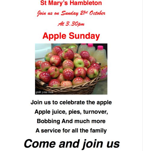 AppleSunday21Oct18