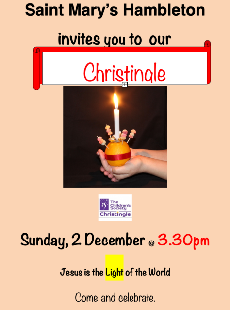 Christingle 2 Dec 18 - 3-30
