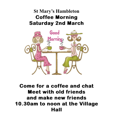 CoffeeMorning2March19
