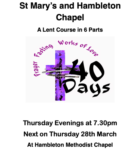 Lent Course 28March2019