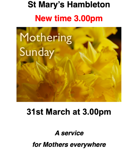 MotheringSunday3PM31March19