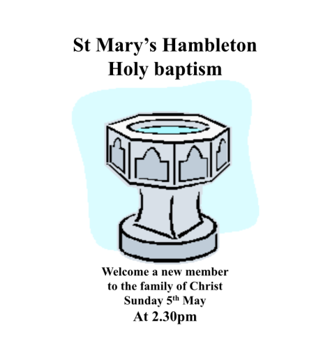 Baptism5May19 - 2-30pm