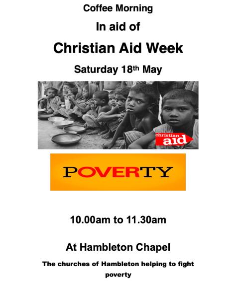 Christianaid 18 May 19