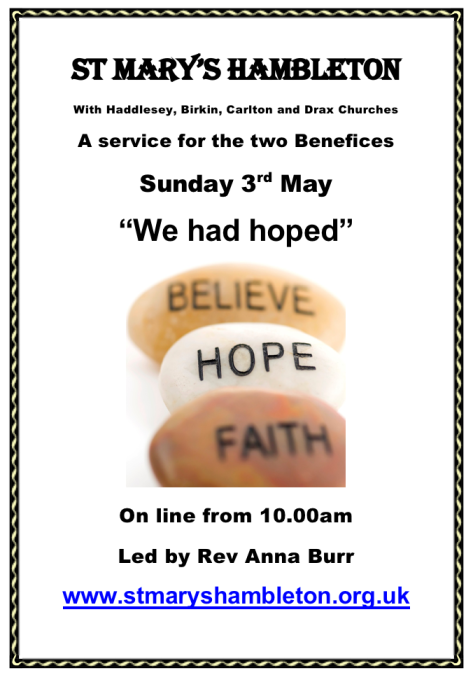 Service - 3rd May 2020