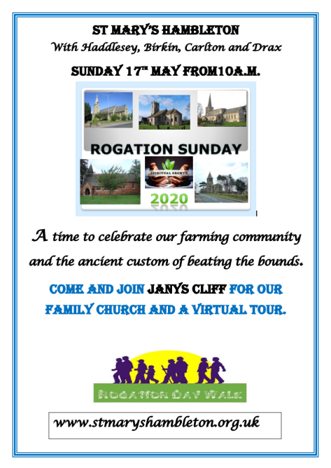 Rogation Sunday 17th May 2020