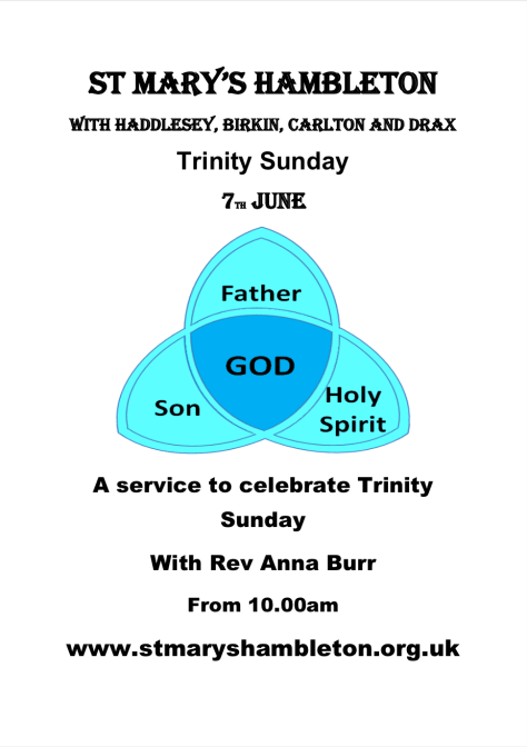 Trinity Sunday - 7th June 2020