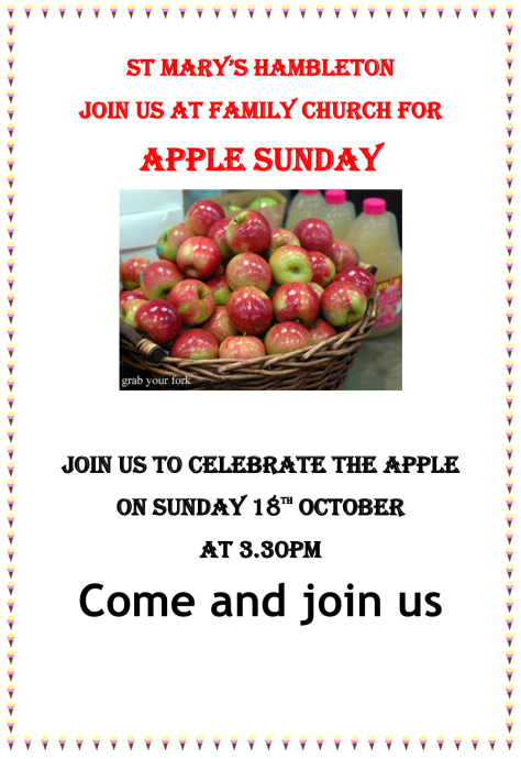 Apple Sunday - 18thOctober2020