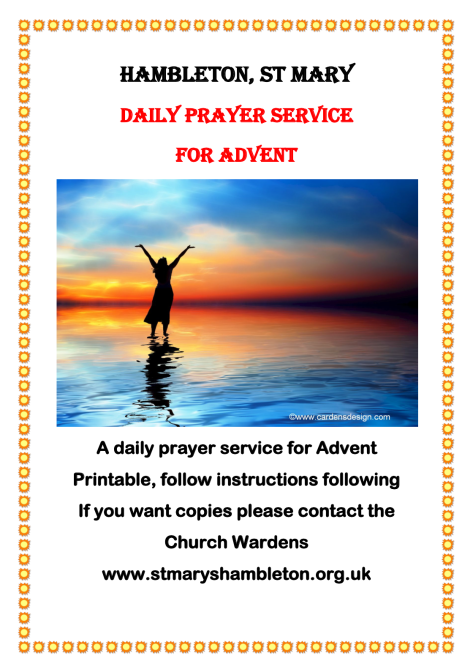 Daily Prayers_Advent