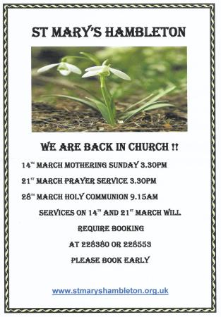Return to Church Mar 2021 Notice